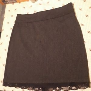 Adorable Skirt with Lace Accent size 13